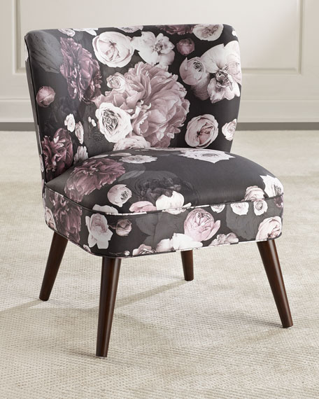 Amazing Floral Accent Chair Concept