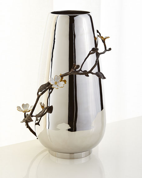 Michael Aram Dogwood Centerpiece Floor Vase