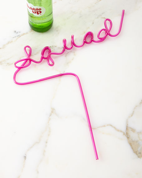 Squad Party Straw