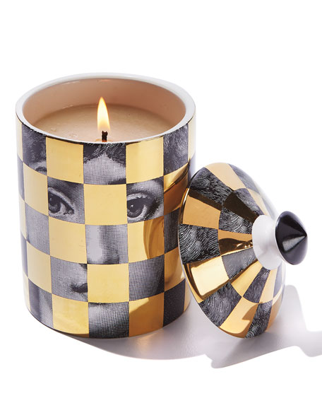 Image 2 of 2: Fornasetti Scacco Scented Candle, 300 g