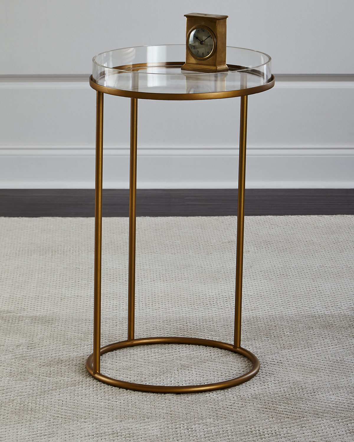 Thylane Acrylic-Top Side Table
