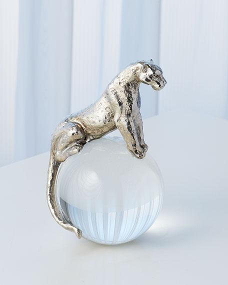 Brass Jaguar on Crystal Ball