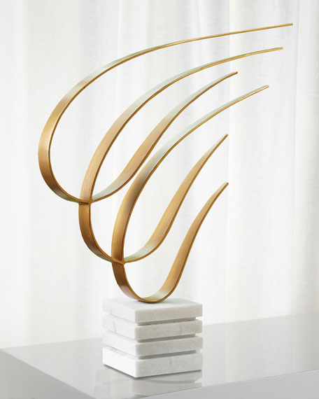 Image 1 of 1: Swoosh Sculpture