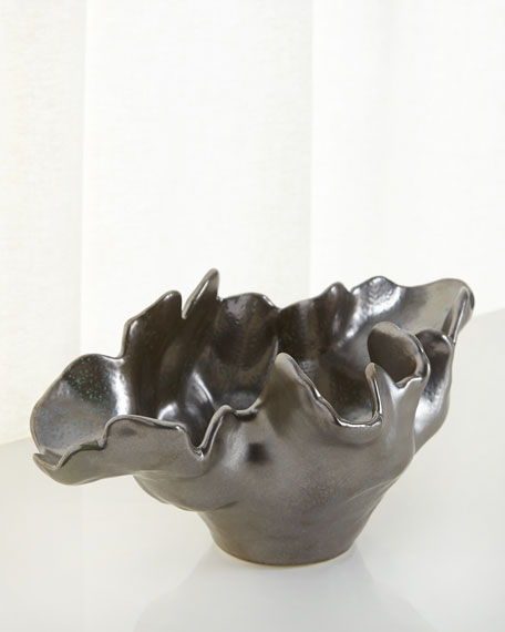 Global Views Meteor Small Decorative Bowl