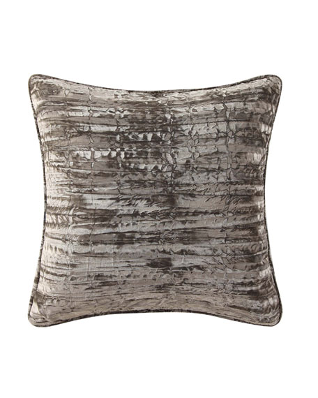 Fleur Solid Velvet Pillow