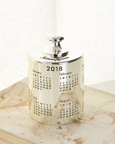 2018 Calendar Paperweight