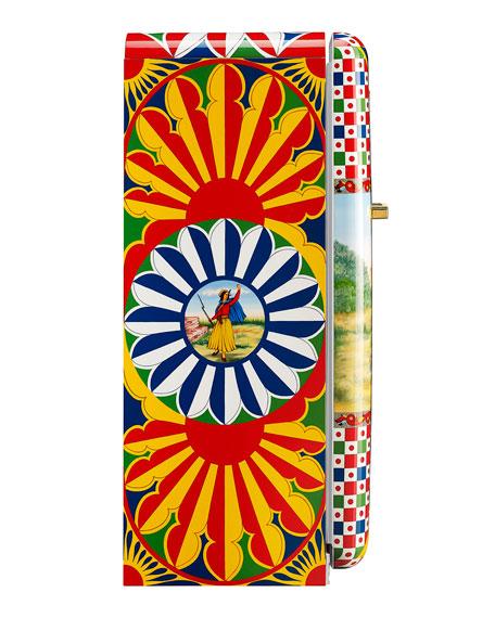 Smeg Dolce Gabbana x SMEG Giuseppe Garibaldi: The Hero of Two Worlds Refrigerator