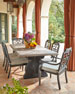 Image 1 of 4: Pair of Gabrielle Armless Dining Chairs