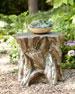 Faux Bois Garden Stool