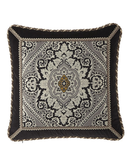 "Austin Horn Collection Rockwell Pillow, 18""Sq."