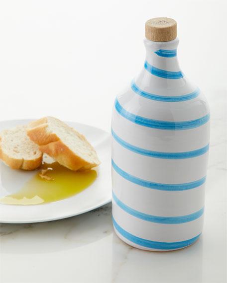 Turquoise Swirl Medium Fruity Olive Oil