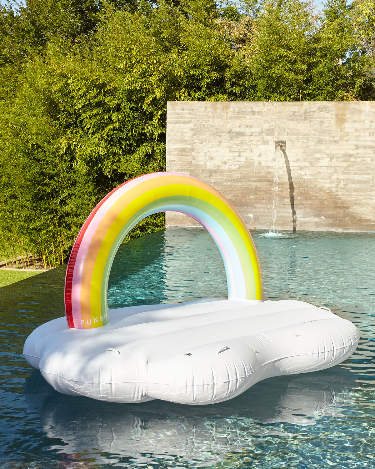 Funboy Rainbow Cloud Daybed Pool Float | Neiman Marcus