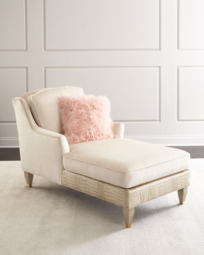 luxurious living room furniture. Zola Chaise Luxury Living Room Furniture at Neiman Marcus