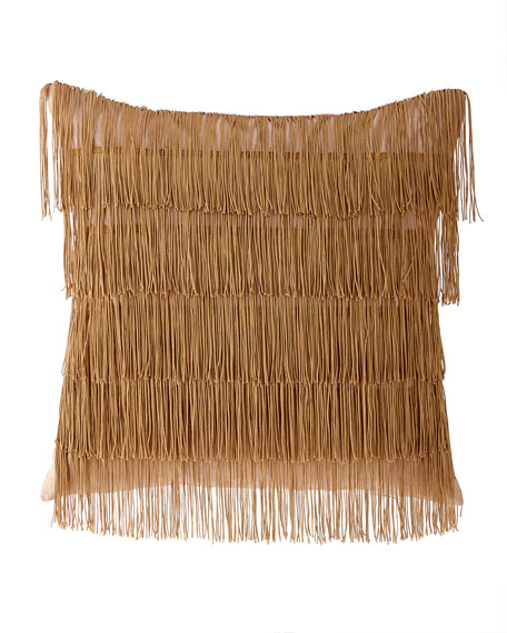 Rosamaria Fancy Fringe Pillow