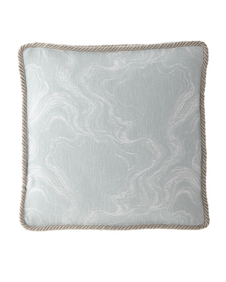 Dian Austin Couture Home Quartzite Boxed Square Pillow