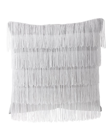 Dian Austin Couture Home Quartzite Fancy Fringe Pillow