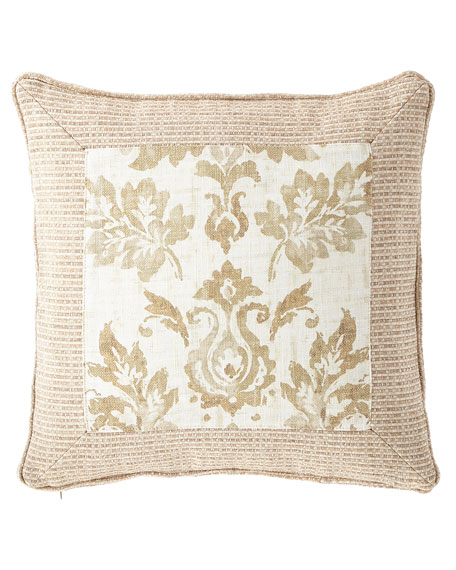 "Vanessa Framed Pillow, 20""Sq."