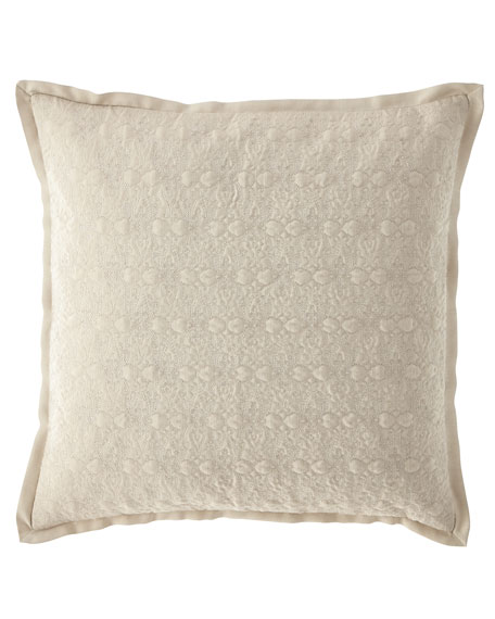 "Victoria Orchid Decorative Pillow, 18""Sq."