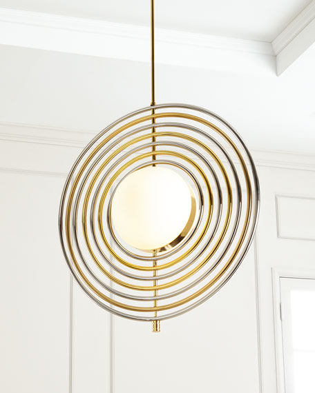 Electrum Kinetic Chandelier