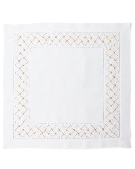 Boutross Imports Madeira Dots Napkins, Set of 4