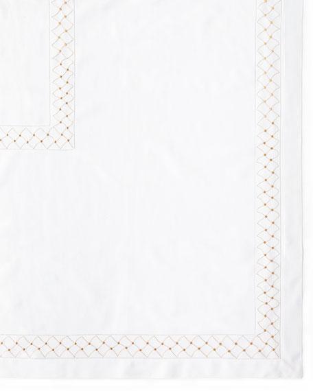 "Madeira Dots Tablecloth, 66"" x 86"""