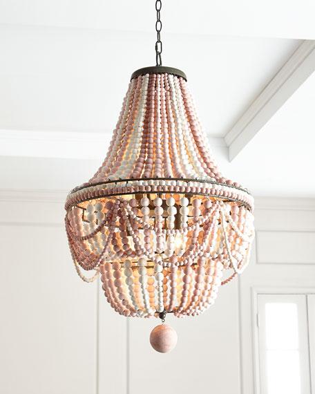 Regina Andrew Design Pink Malibu Chandelier