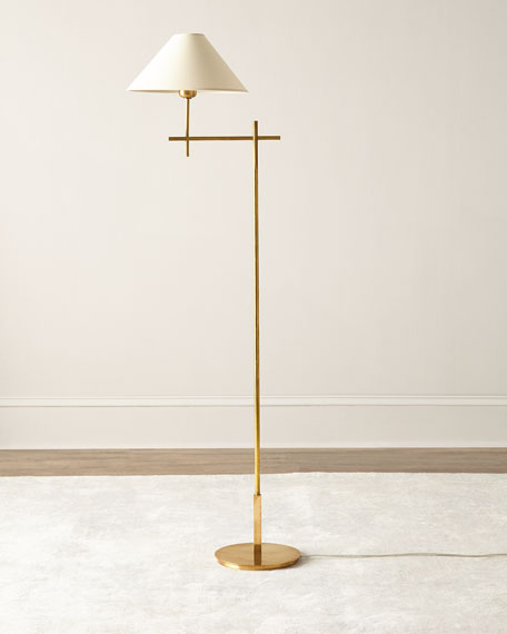 Visual Comfort Golden Floor Lamp