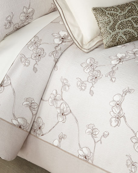 Michael Aram Orchid Full/Queen Duvet and Ma Thread