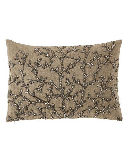 Michael Aram Tree of Life Beaded Pillow