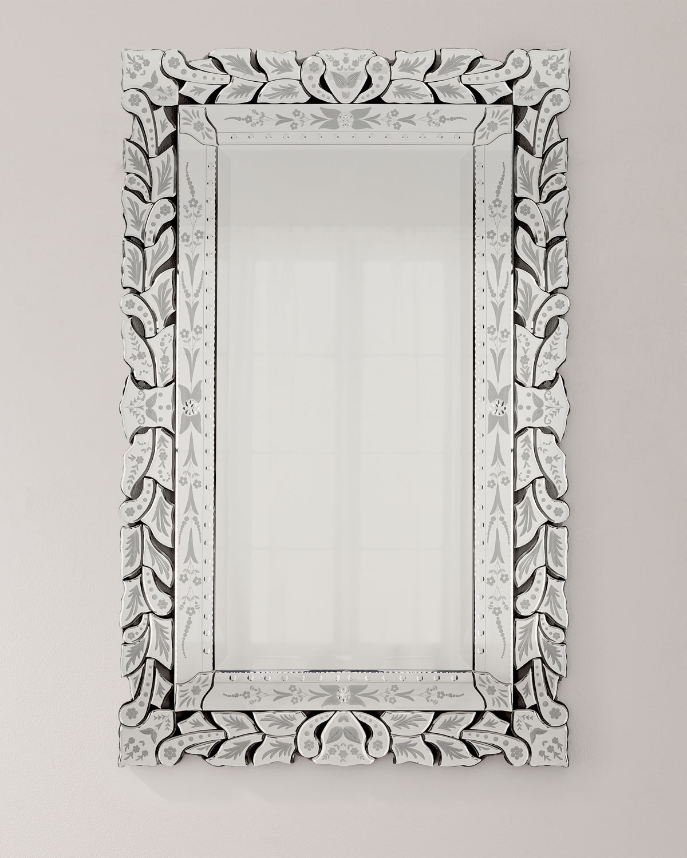 Rectangular Venetian Mirror Neiman Marcus