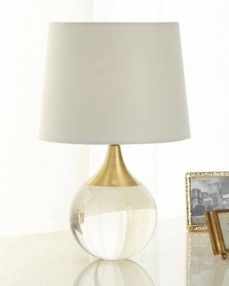 Regina Andrew Design Fluted Crystal Ball Lamp