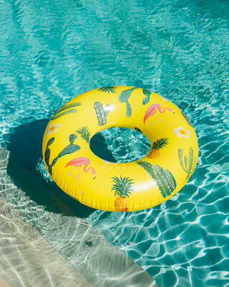 Image 1 of 2: Cactus Cooler Inflatable Pool Float