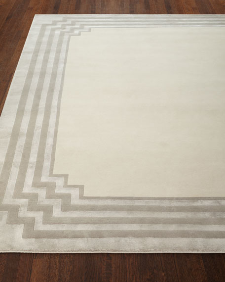 Image 1 of 5: Exquisite Rugs Chattingham Hand-Knotted Rug, 10' x 14'