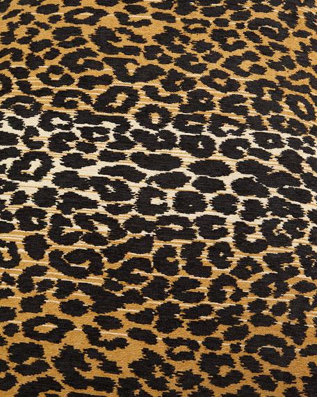 Massoud Camlo Leopard Bench