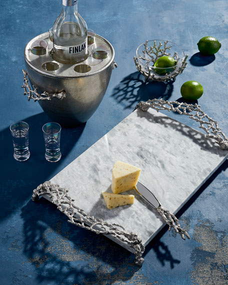 Michael Aram Ocean Reef Cheese Board with Knife