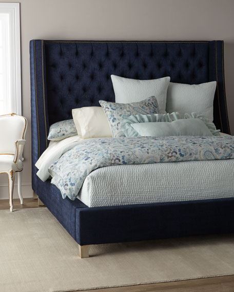 Massoud Kniles Tufted Queen Bed