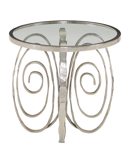 Delicate Scroll Side Table