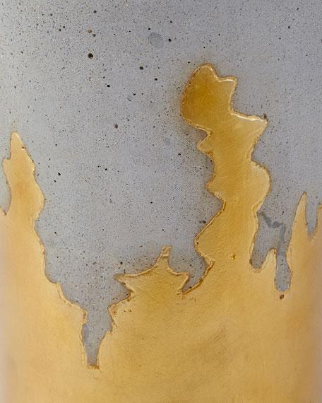 John-Richard Collection Brilliant Concrete Martini Side Table