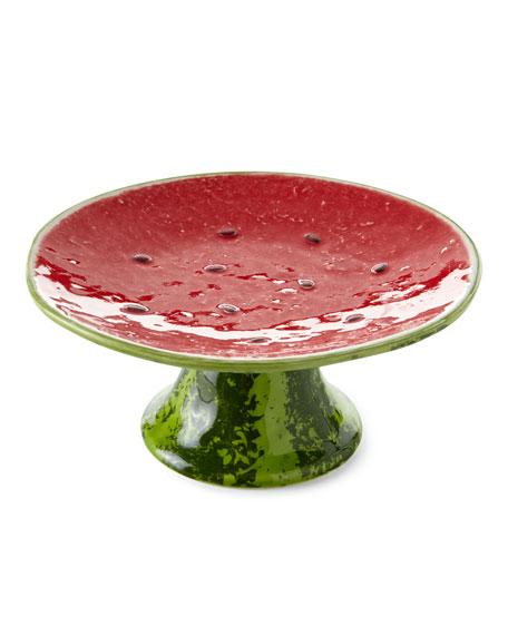 "Watermelon Cake Stand, 8""Dia."