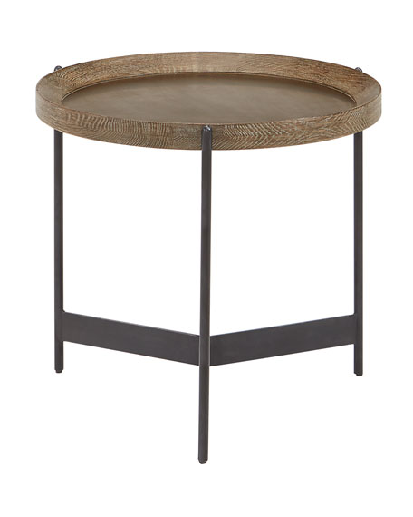 Image 2 of 3: Pomona Tray Side Table