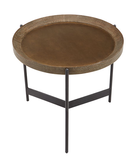 Image 3 of 3: Pomona Tray Side Table
