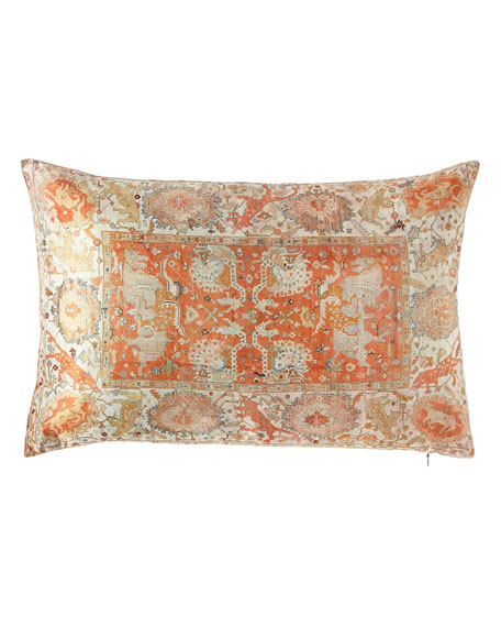 Poetic Pillow Tangerina Loop Lumbar Pillow