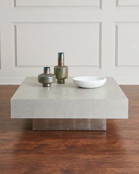 John-Richard Collection Loft Square Coffee Table