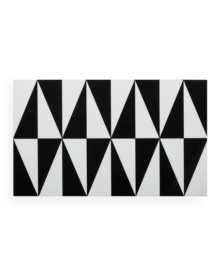 Jonathan Adler Op Art Medium Stacking Box