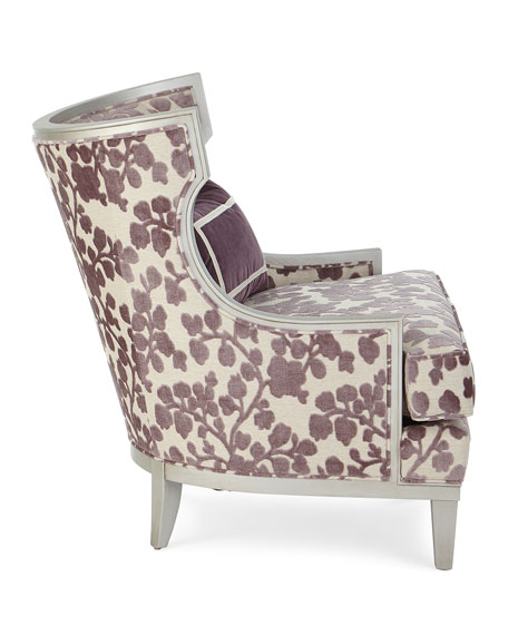 Image 3 of 5: Massoud Orchid Park Wing Chair