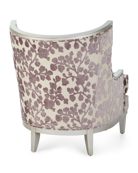 Image 5 of 5: Massoud Orchid Park Wing Chair