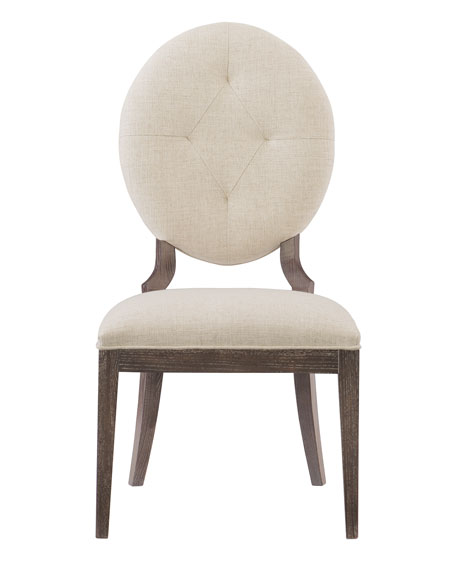 Bernhardt Clarendon Oval-Back Side Chair, Single