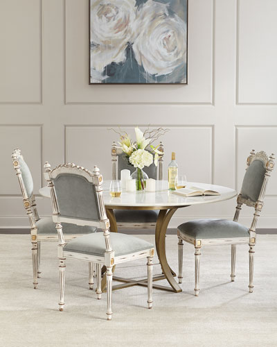 Angelette Velvet Dining Side Chair