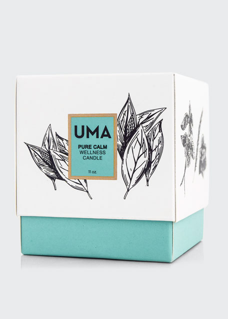 Image 2 of 2: UMA Oils Pure Calm Wellness Scented Candle