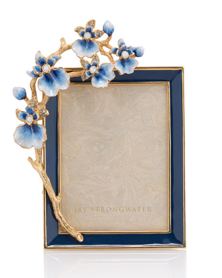 "Indigo Orchid 3"" x 4"" Picture Frame"